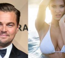 Primo piano di Leonardo DiCaprio e Ela Kawalec