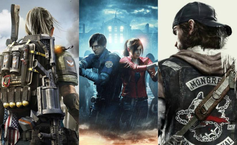 The Division 2, Resident Evil 2 e Days Gone sono alcuni dei videogiochi più attesi del 2019