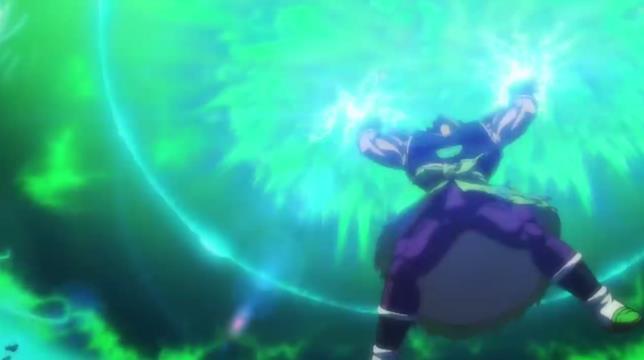 Broly Super attacco più potente