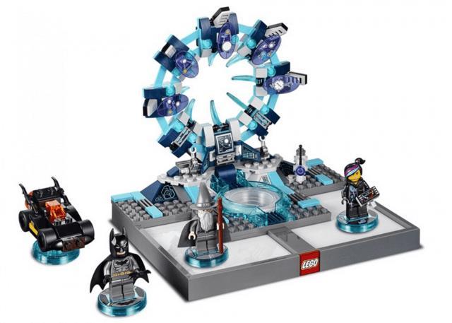 Lo starter pack di LEGO Dimensions contiene un portale, un veicolo e tre eroi, tutti da costruire