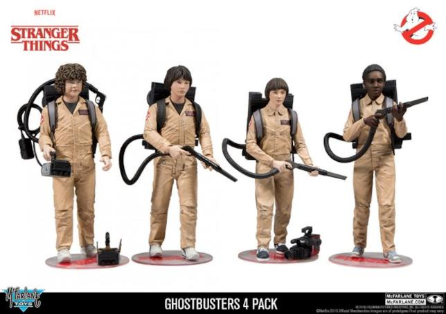 Le action figure di Stranger Things arrivano ad Halloween
