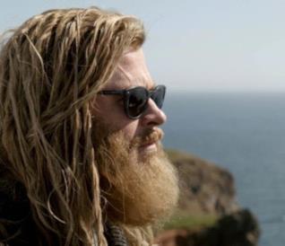 Un profilo di Thor in Avengers: Endgame