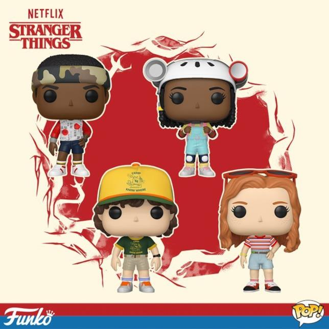 Stranger Things terza stagione Funko Pop