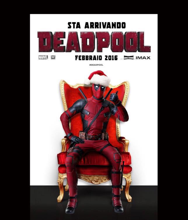 Deadpool si prepara a festeggiare il nuovo trailer con 12 Giorni di Deadpool