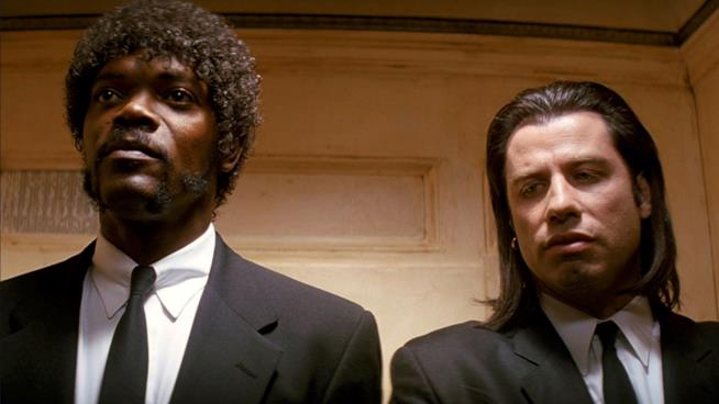 Una scena di Pulp Fiction
