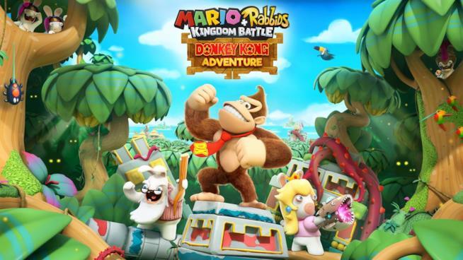 Donkey King e gli spassosi Rabbids, protagonisti del gioco Ubisoft