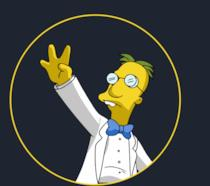 Il professor Frink dei Simpson