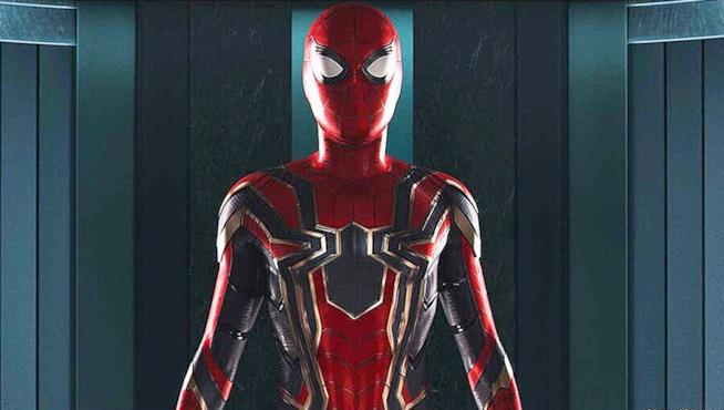 L'armatura Iron Spider vista in Spider-Man: Homecoming