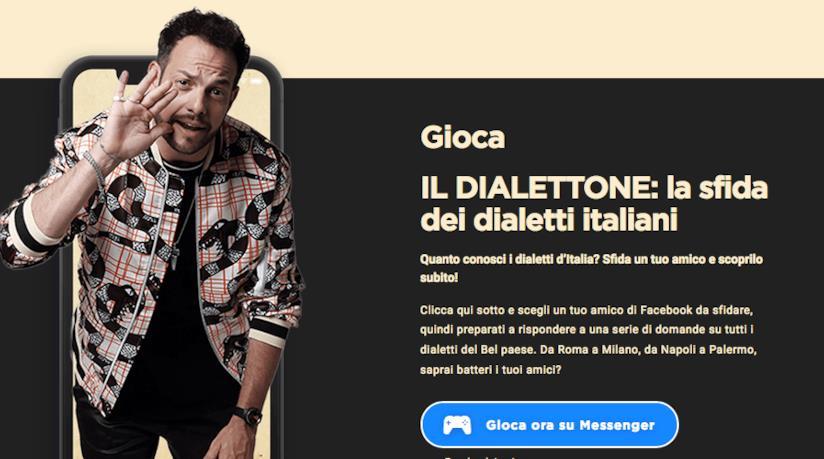 Il gioco facebook dei dialetti italiani di Romolo + Giuly