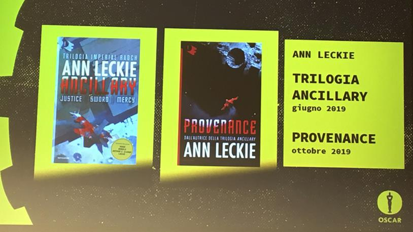 Le copertine di Ann Leckie