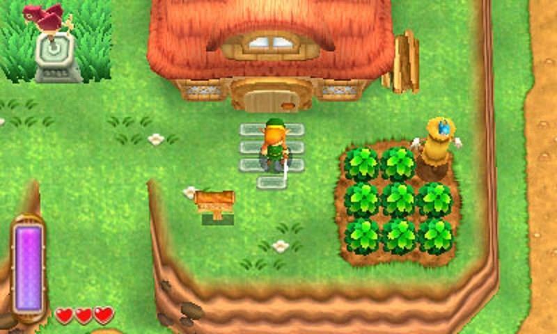 Uno screenshot di gioco da A Link Between Worlds su Nintendo 3DS