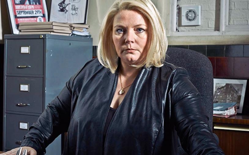 Joanna Scanlan, protagonista di No Offence