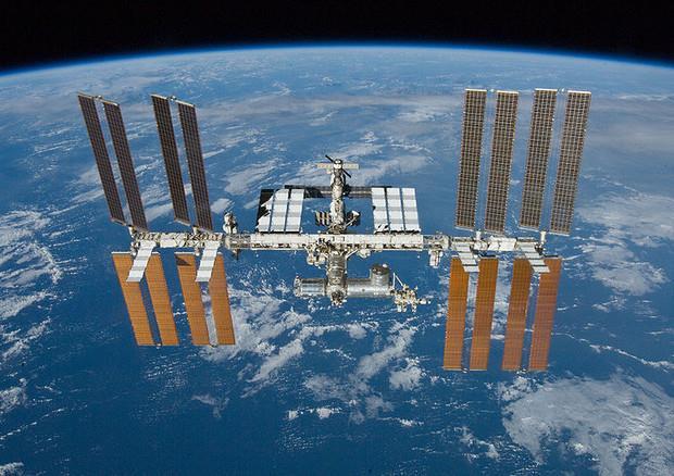 Una foto della Stazione Spaziale Internazionale