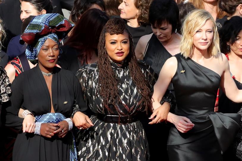 La marcia femminista di Cannes 2018