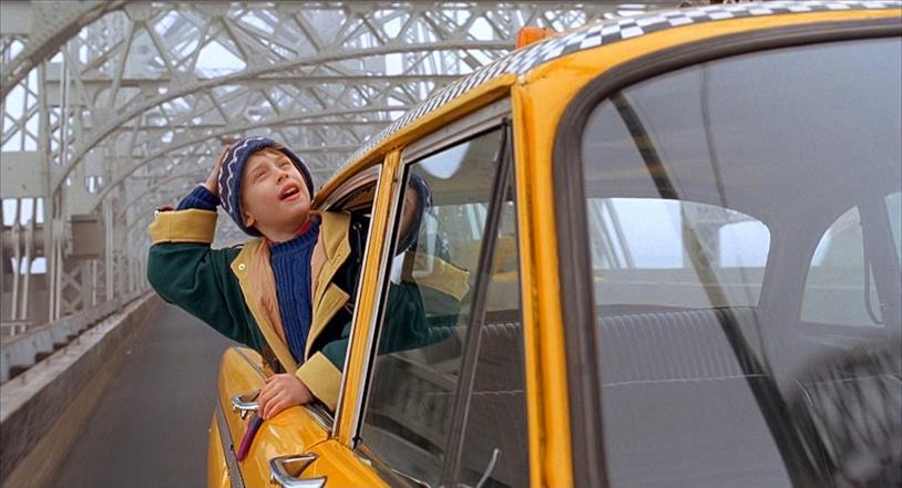 Una scena di Mamma ho riperso l'aereo: mi sono smarrito a New York