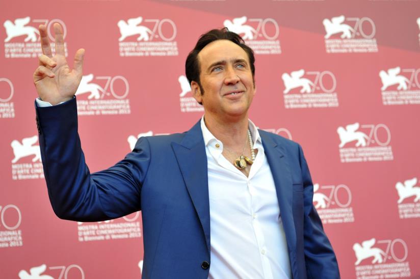 Nicolas Cage a Venezia
