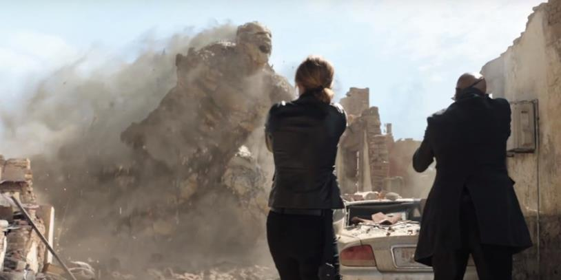 Nick Fury e (forse) Maria Hill affrontano Magnum in Spider-Man: Far From Home