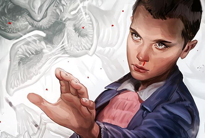 Una splendida fanart di Eleven da Stranger Things