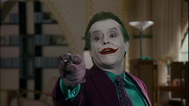 Risultati immagini per Jack Nicholson, Batman 1989