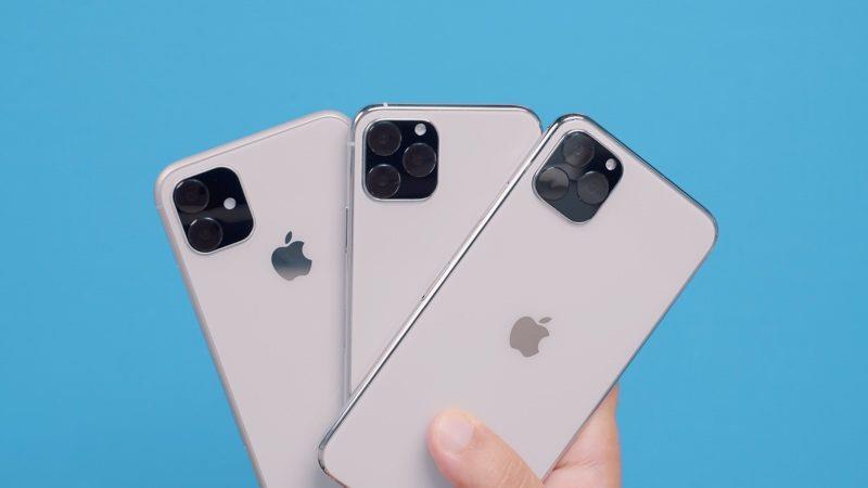 Unità dummy dei tre nuovi iPhone (2019)