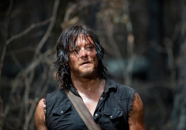 Norman Reedus è Daryl in The Walking Dead