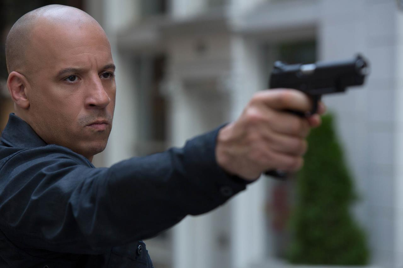 fast and furious 8 Vin Diesel