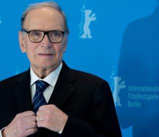 Ennio Morricone al Festival internazionale del cinema di Berlino
