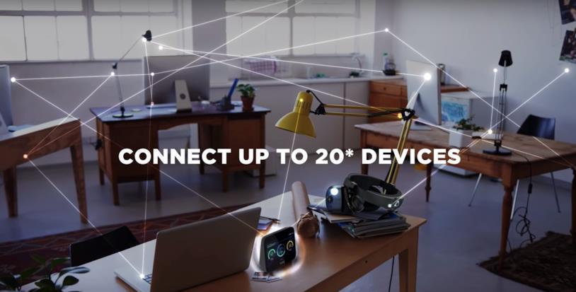 Immagine promozionale del nuovo HTC 5G Hub