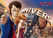 In primo piano Lupin e la sua banda agli Universal Studios Japan