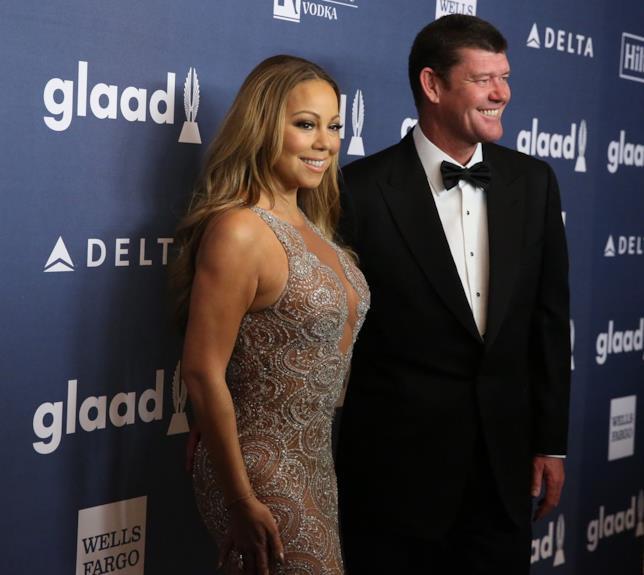 Foto di Mariah Carey e James Packer