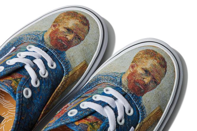 Van Gogh Museum lancia una linea di scarpe in collaborazione con Vans