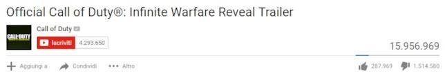 Call of Duty: Infinite Warfare delude i fan