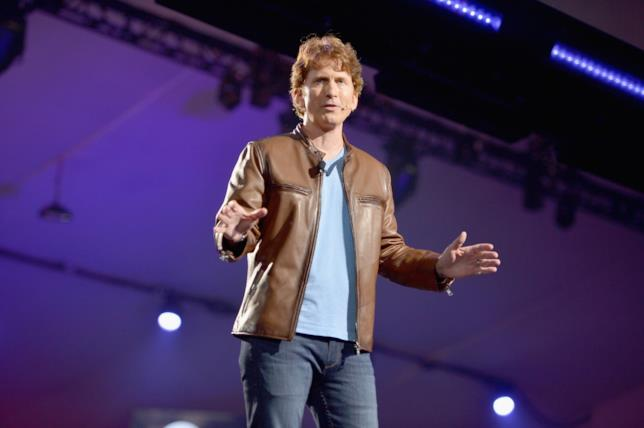 Todd Howard di Bethesda all'E3 2018