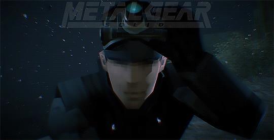 Snake in una gif custom da Metal Gear - Ground Zeroes