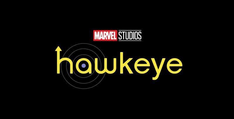 Il logo ufficiale della serie TV dedicata a Hawkeye