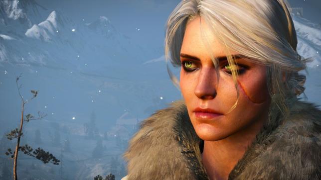 Ciri in The Witcher 3: Wild Hunt