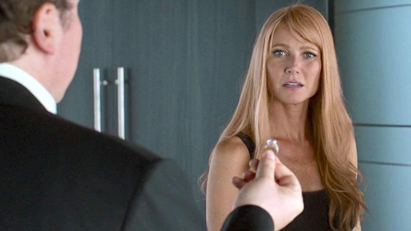 Gwyneth Paltrow in una scena di Spider-Man: Homecoming