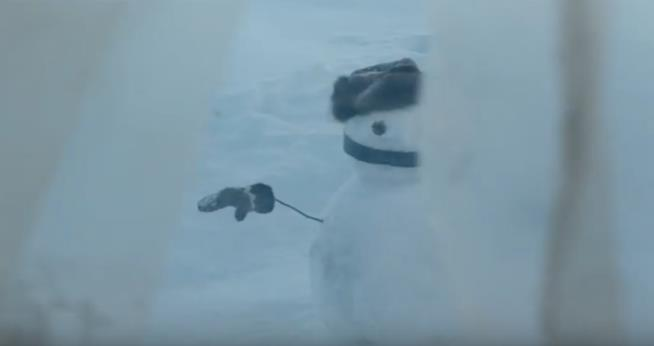 Un pupazzo di neve in L'Uomo di Neve