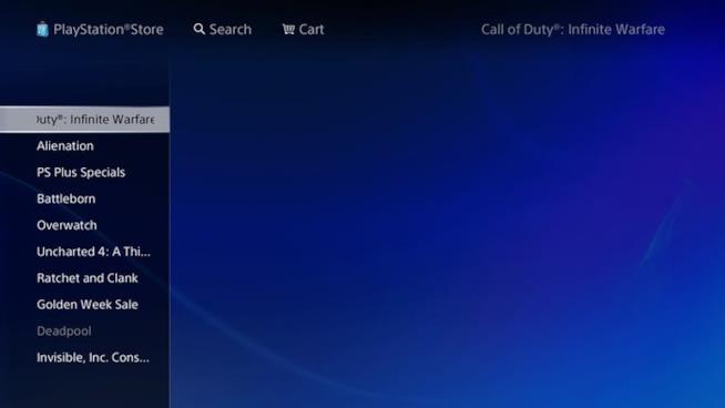 Call of Duty Infinite Warfare sviluppato da Infinity Ward