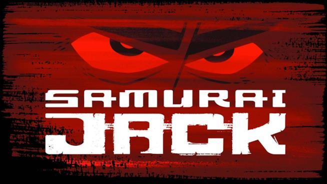 Il logo della serie originale di Samurai Jack