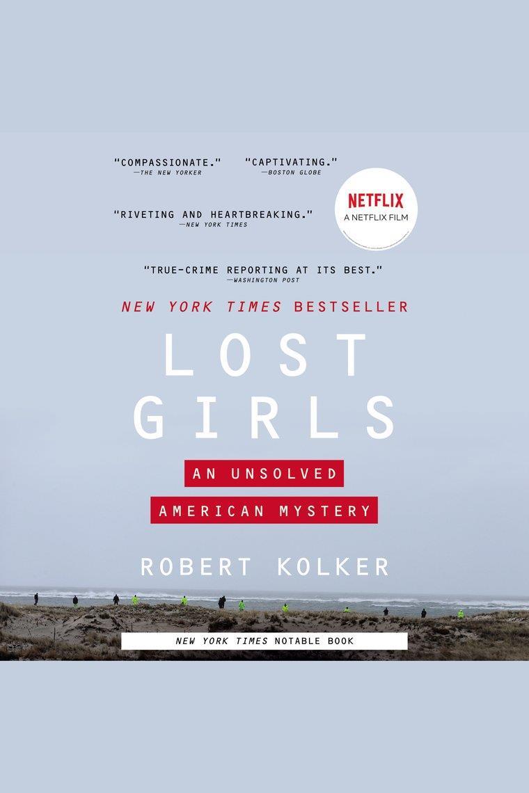 La vista sulla spiaggia di Long Island sulla cover del libro Lost Girls: An Unsolved American Mystery