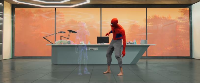 La mimetizzazione, nuova abilità ammirabile in Spider-Man: Un Nuovo Universo