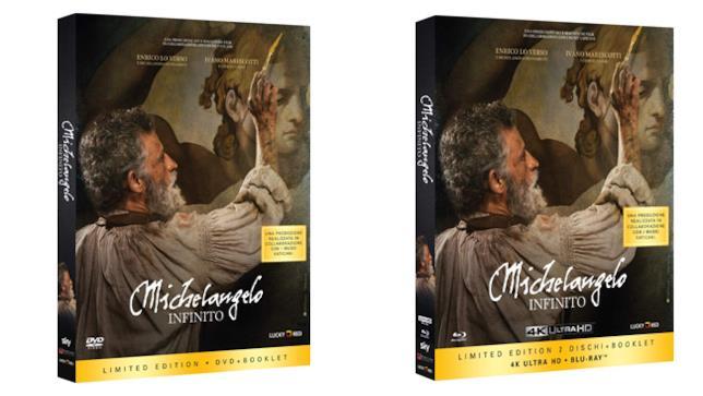 Michelangelo - Infinito - Home Video - DVD e Blu-ray