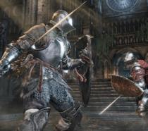 Un combattimento di Dark Souls 3