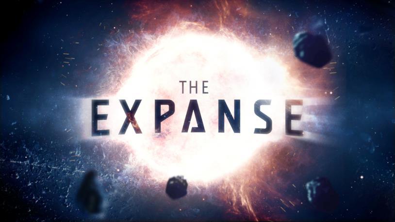 Manifesto e logo principali della serie TV The Expanse