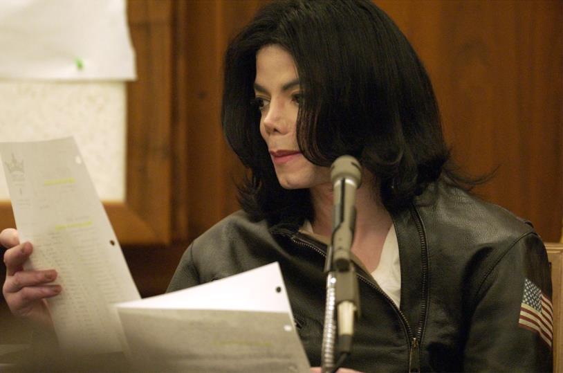 Il re del pop durante il processo sulle accuse di abusi su minore