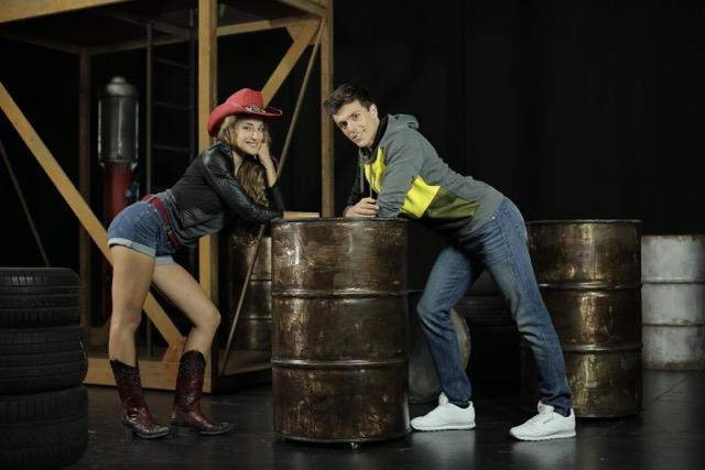 Riccardo Sinisi e Beatrice Baldaccini sono Ren e Ariel in Footloose - Il Musical