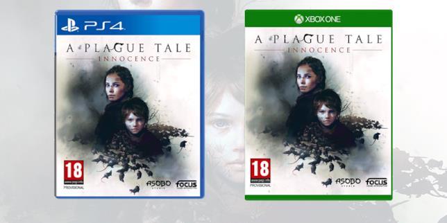 La boxart su console di A Plague Tale: Innocence