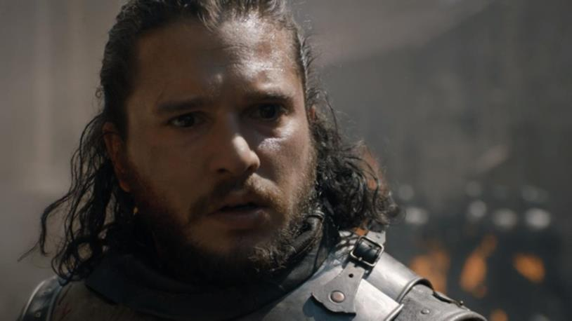 Kit Harington in Game of Thrones 8x05