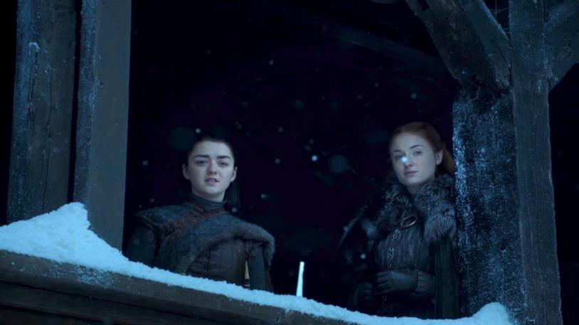 GoT 8: Sansa e Arya